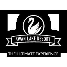 swan lake resort logo