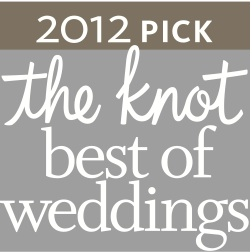 2012 the Knot best of weddings badge