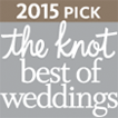 2015 the Knot best of weddings badge