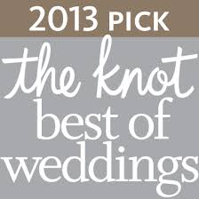 2013 the Knot best of weddings badge