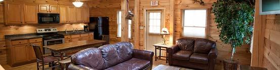 Full Kitchen Cabin