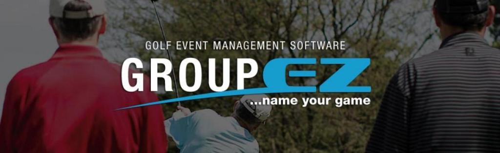 Group EZ Golf Event Management Software graphic
